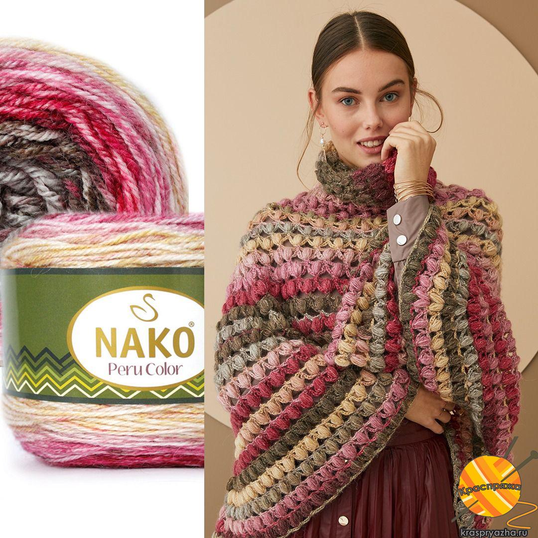 Nako-peru-color Краспряжа