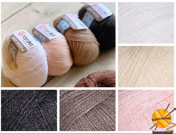 yarnart-silky-wool Краспряжа